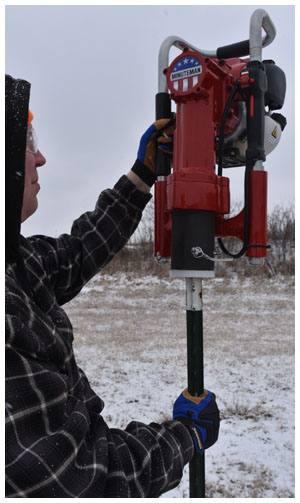 Minuteman XL8 Post Driver